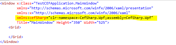Adding-xaml-namespace